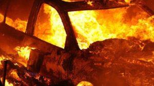 В Запорожской области ночью горел гараж та канистрами ГСМ