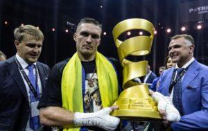 Александр Усик стал абсолютным чемпионом мира в первом тяжелом весе - ВИДЕО