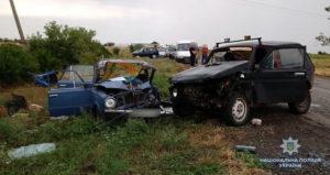 В Запорожской области пьяный водитель «Нивы» вылетел на «встречку» и  устроил смертельное ДТП - ФОТО
