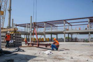 Запорожцам показали, как проходит строительство нового пассажирского терминала аэропорта - ВИДЕО