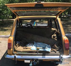 Житель Запорожской области перевозил в «Жигулях» артиллерийские боеприпасы – ФОТО