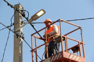 В Шевченковском районе Запорожья установили современные светодиодные светильники - ФОТО