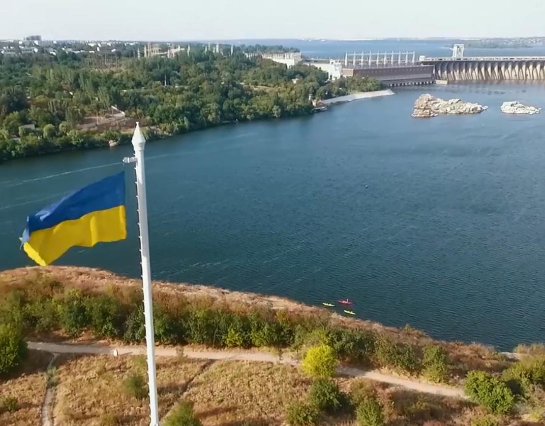 Порошенко отметил видео с Хортицей, которое снял с высоты птичьего полета запорожский военнослужащий – ФОТО, ВИДЕО