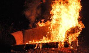 В Запорожье в пятиэтажном доме случился пожар