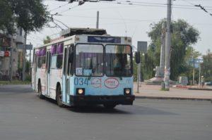 В Запорожье временно закроют движение одного из троллейбусных маршрутов