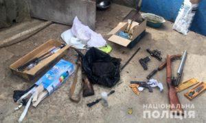 Житель Запорожской области хранил дома арсенал оружия - ФОТО