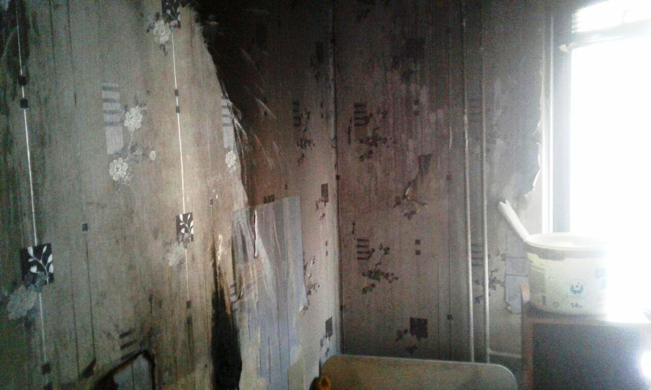 В Запорожье произошел пожар в квартире, в которой проживает многодетная семья - ФОТО