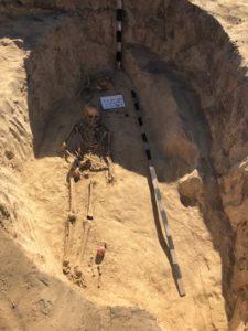 Запорожские археологи обнаружили древнее захоронение женщины-воина Скифии - ФОТО