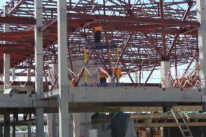 Запорожцам показали, как продвигается строительство нового терминала аэропорта - ФОТО