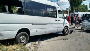 Запорожская полиция разыскивает свидетелей смертельного ДТП с участием маршрутки