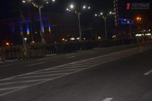 В центре Запорожья состоялась генеральная репетиция торжественного шествия ко Дню Независимости – ФОТО, ВИДЕО