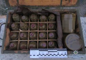 В Запорожской области в вагоне поезда обнаружили более тысячи боеприпасов - ФОТО