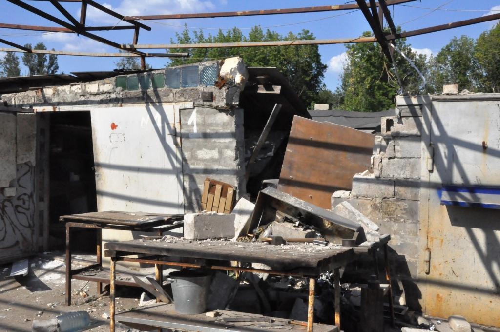 В Запорожье в гараже взорвался газовый баллон: есть пострадавший - ФОТО
