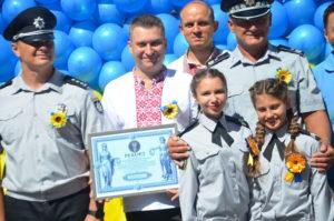 В Запорожье поставили рекорд по изготовлению наибольшего флага из воздушных шаров - ФОТО
