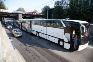 В Запорожье сразу три автобуса с детьми попали в ДТП - ФОТО