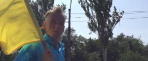 Главный хелпэр Запорожья не признал в бегущем на дамбе мужчине своего коллегу  – ВИДЕО