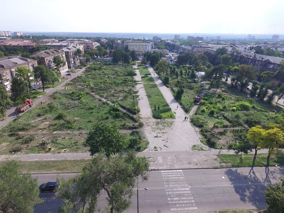 В Запорожье произошел раскол внутри рабочей группы по решению вопроса строительства нового торгового центра