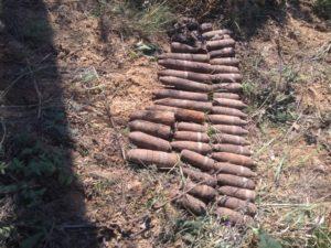 В Запорожской области обнаружили и обезвредили почти полсотни боеприпасов - ФОТО
