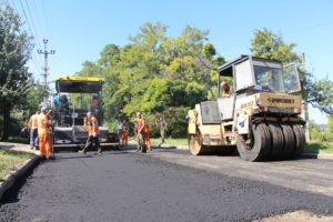 В Запорожье завершают ремонт одной из дорог частного сектора Шевченковского района - ФОТО
