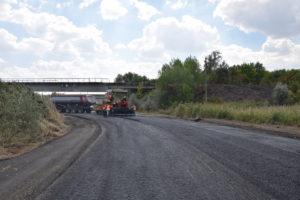 На трассе в Запорожской области проводят капремонт аварийного моста - ФОТО
