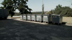 В Запорожье за месяц сожгли двенадцать мусорных баков