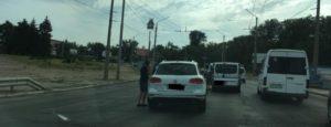В Запорожье попал в аварию главный тренер футбольного клуба «Заря» - ФОТО