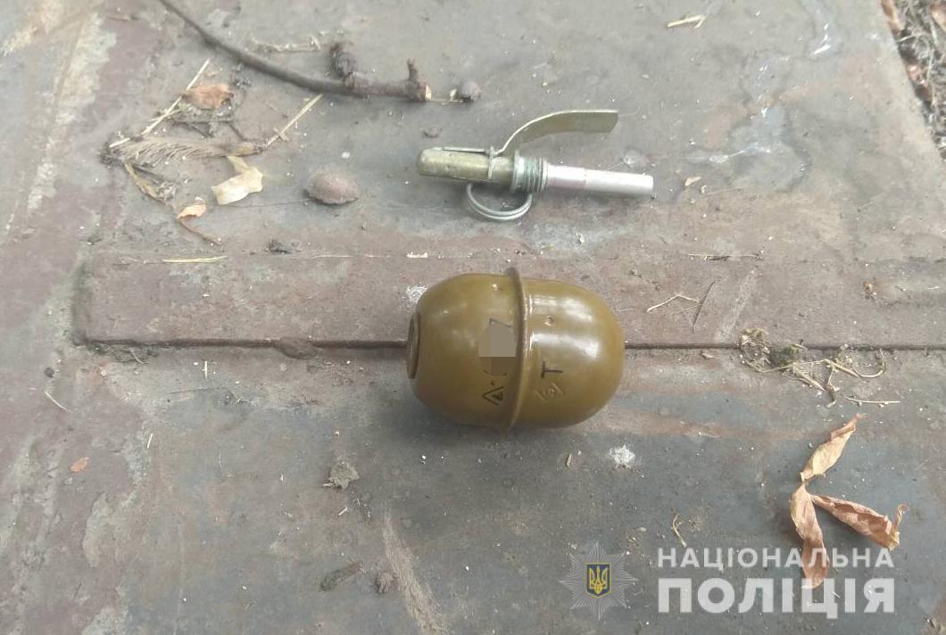 Обрез, патроны и граната: запорожские правоохранители продолжают изымать незаконные боеприпасы