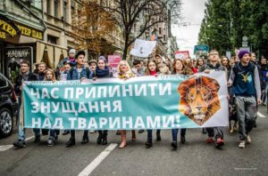 В Запорожье пройдет марш за права животных