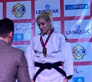 Запорожанка завоевала золото на кубке Мира по парадзюдо - ФОТО