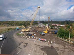 На трассе в Запорожской областидемонтировали аварийный мост: начинается этап строительства - ФОТО