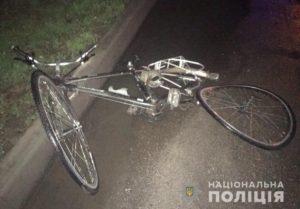 В Запорожской области 21-летний водитель «Volvo» насмерть сбил велосипедиста - ФОТО