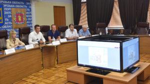 В областном совете презентовали эскизный проект нового корпуса онкодиспансера - ФОТО