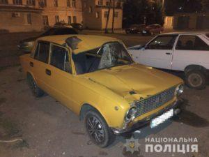 В Запорожской области водитель насмерть сбил человека и скрылся с места ДТП - ФОТО