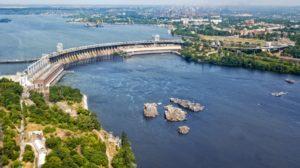 В Запорожье стартовала масштабная реконструкция на ДнепроГЭСе