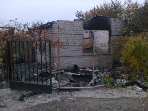 В Запорожской области ночью сгорел жилой дом: погибла женщина - ФОТО