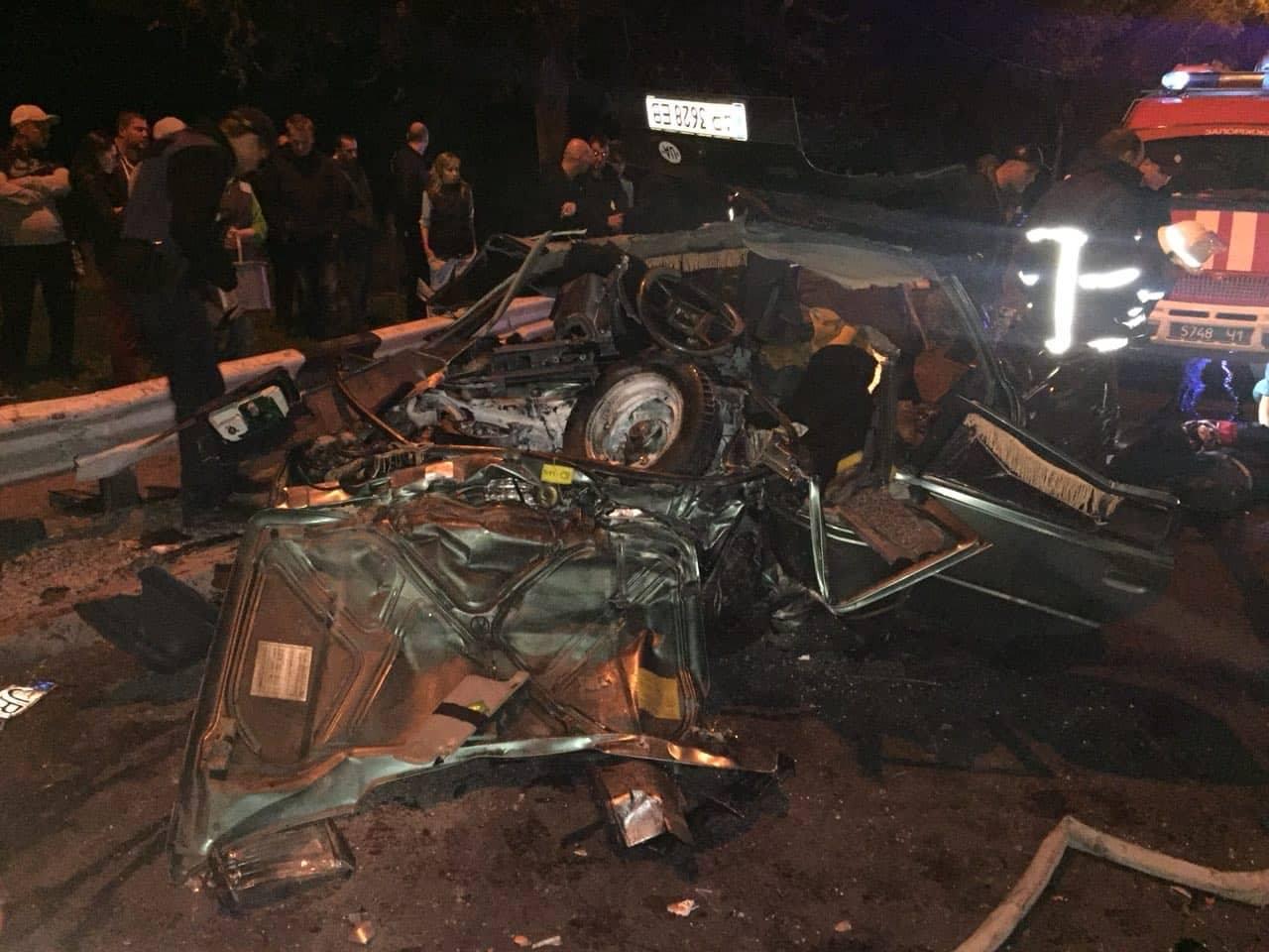В Запорожье задержали водителя Audi, который спровоцировал смертельное ДТП - ФОТО