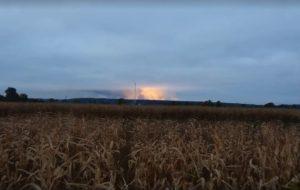В Черниговской области из-за взрывов на складах боеприпасов эвакуировали более 12 тысяч человек