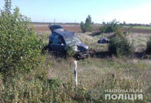 На запорожской трассе столкнулись две легковушки: пятеро пострадавших - ФОТО