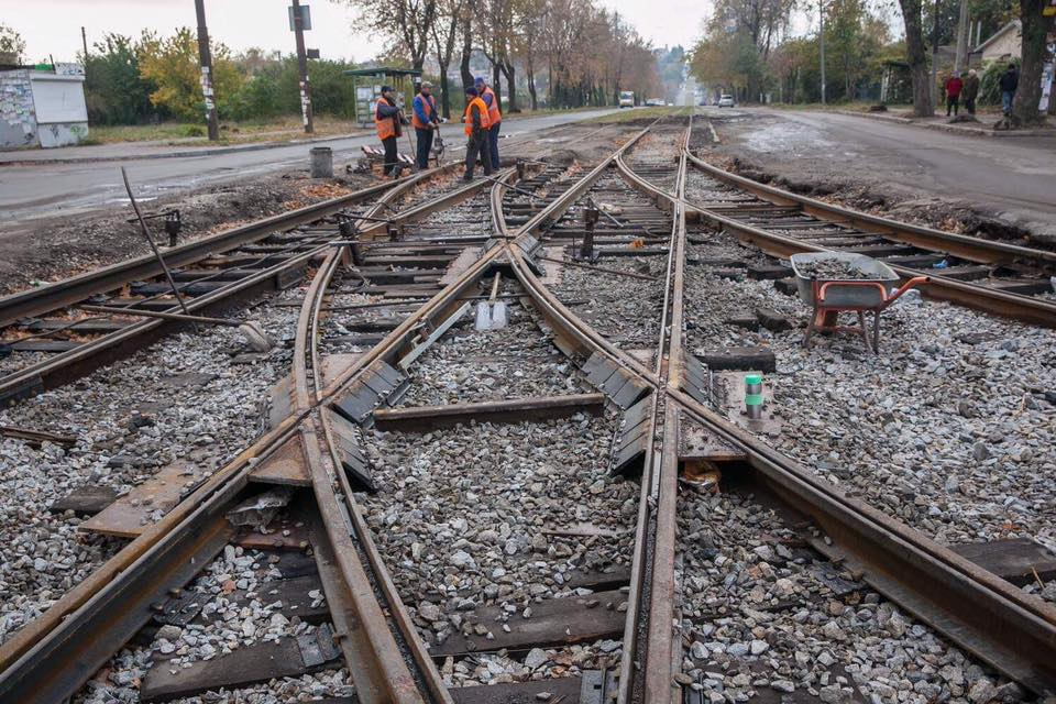 Картинки по запросу ремонт трамвайного переезда