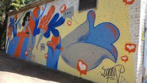 В Запорожье открыли мурал в рамках акции «Искусство против наркотиков» - ФОТО