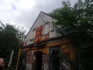 В Запорожье может быть полностью уничтожено историческое здание со столетней историей - ФОТО