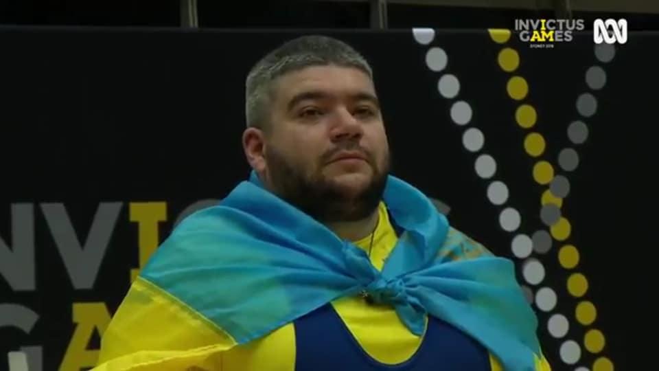 Запорожский ветеран АТО завоевал серебряную медаль по пауэрлифтингу на
