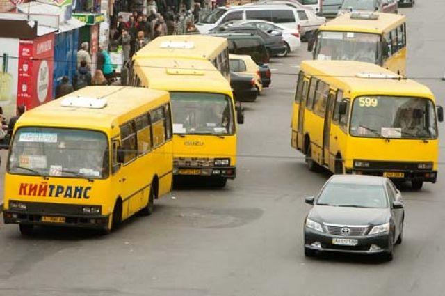 В столице до конца года проезд в маршрутках вырастет на 1-3 гривны