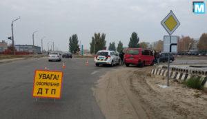 В районе Запорожской АЭС произошло ДТП: лоб в лоб столкнулись две иномарки - ФОТО