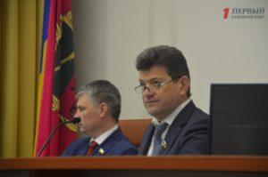 Владимир Буряк открыл октябрьскую сессию Запорожского городского совета