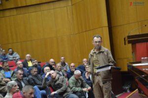 В Запорожье выбирают новый консультативный совет участников АТО и его главу - ФОТО, ВИДЕО