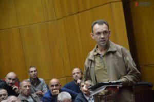 В Запорожье избрали нового главу консультативного совета ветеранов АТО