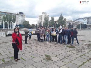 Ограничились только митингом: в Запорожье сорвался автомотопробег ко Дню защиты животных - ФОТО, ВИДЕО