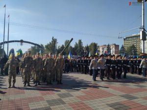 Выставка военной техники, марш и торжественная присяга: в Запорожье отмечают День защитника Украины - ФОТО, ВИДЕО