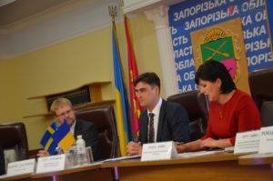 Посол Швеции обсудил с руководством Запорожской области пути партнерства